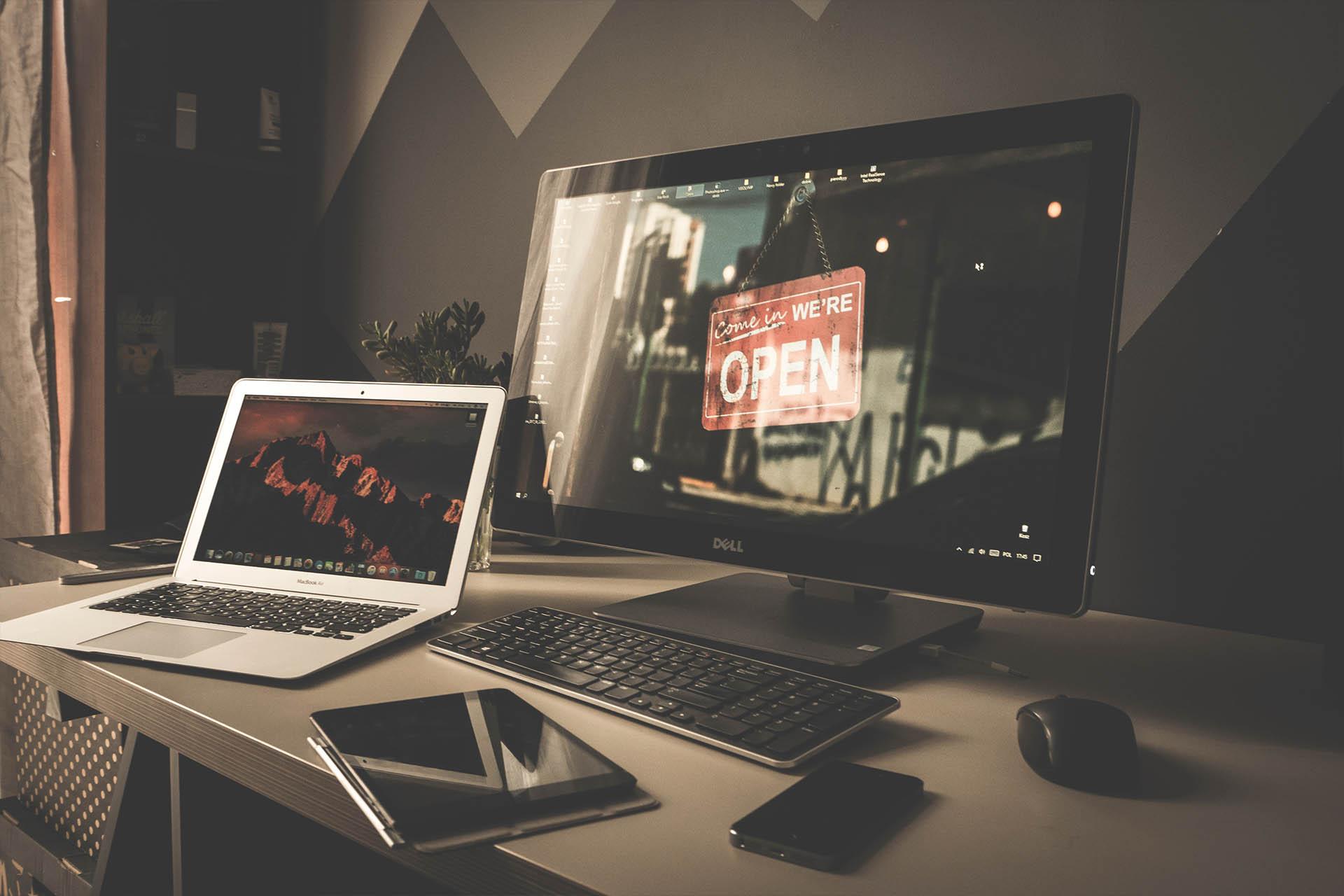 desktop design